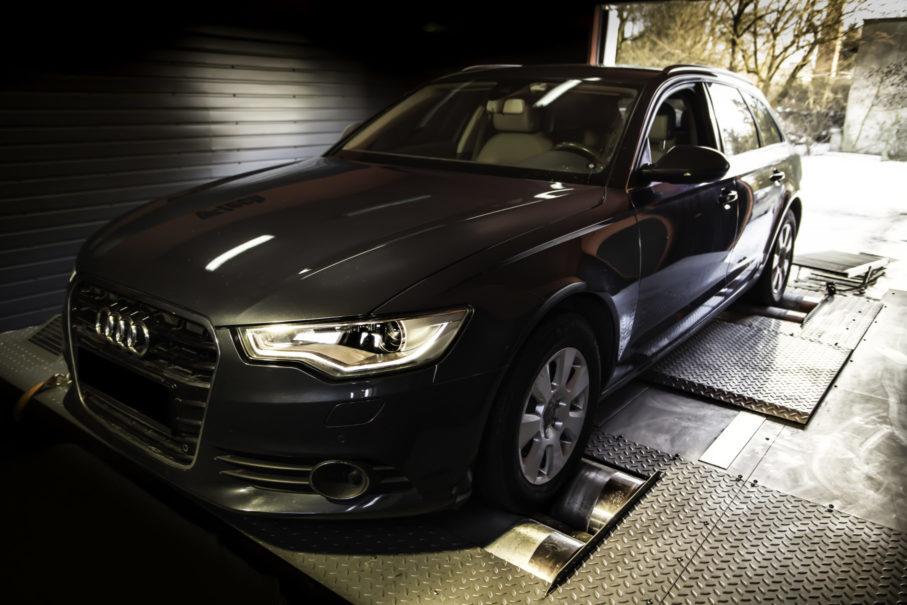Audi chip tuning przeprowadzony w s-performance