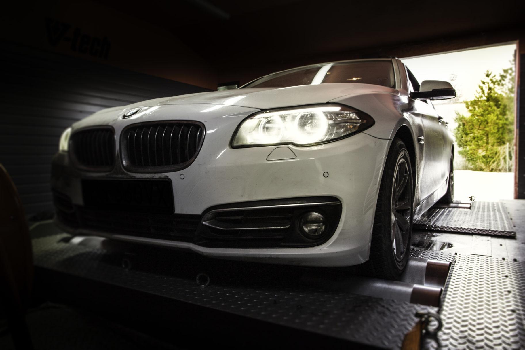 BMW 520 F 184 KM 2014r. CHIP TUNING