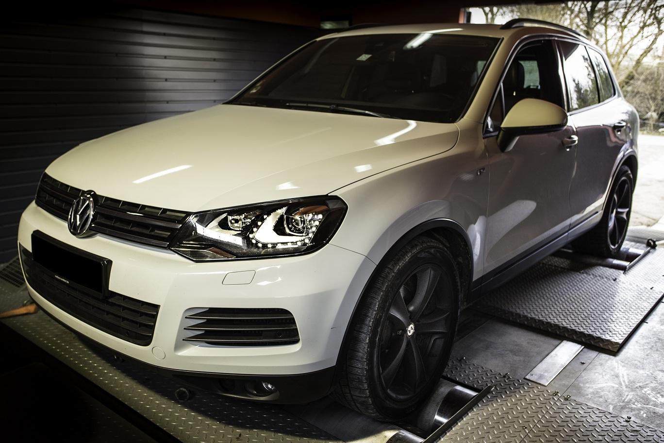 VW Touareg 3.0 TDI tuning