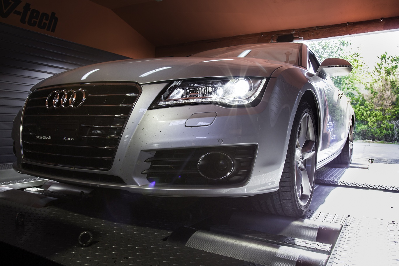 3 0 tfsi chiptuning w audi a7 stage 1 400km w s. Black Bedroom Furniture Sets. Home Design Ideas