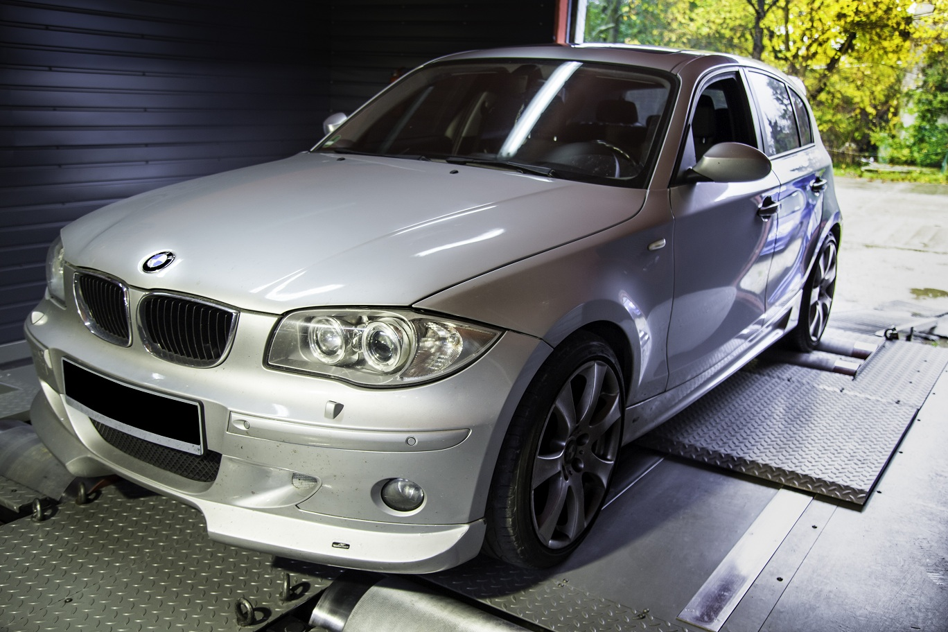 bmw seria 1 120D chip tuning