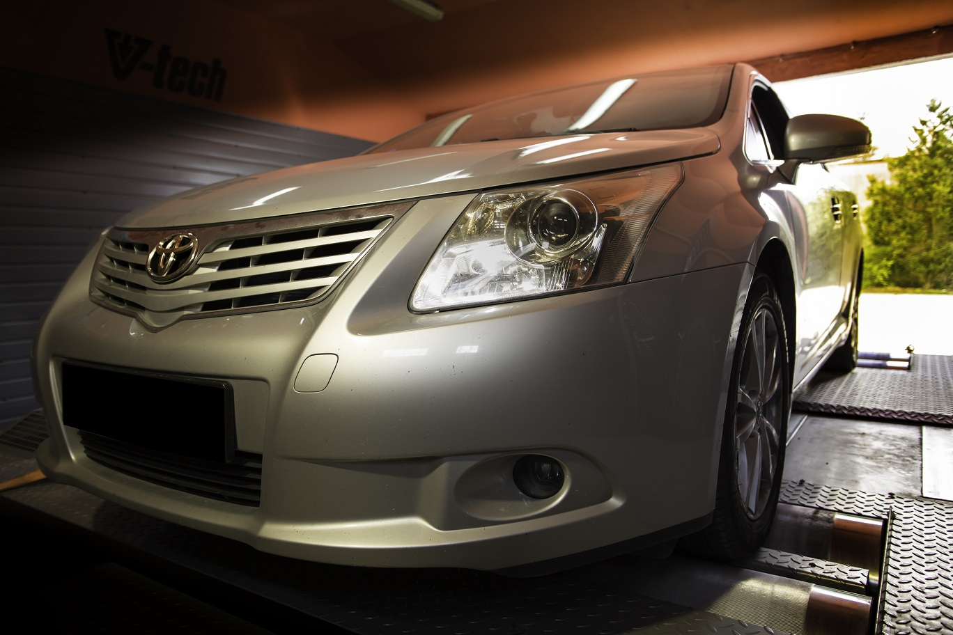 toyota avensis tuning d4d