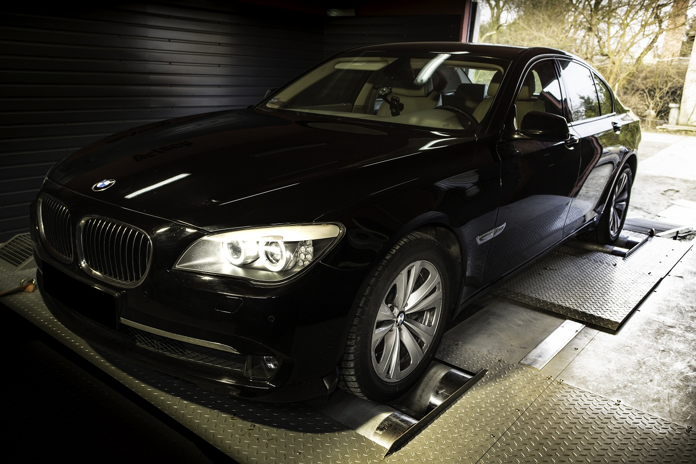 tuning bmw 740d